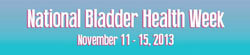 National Bladder Health Week